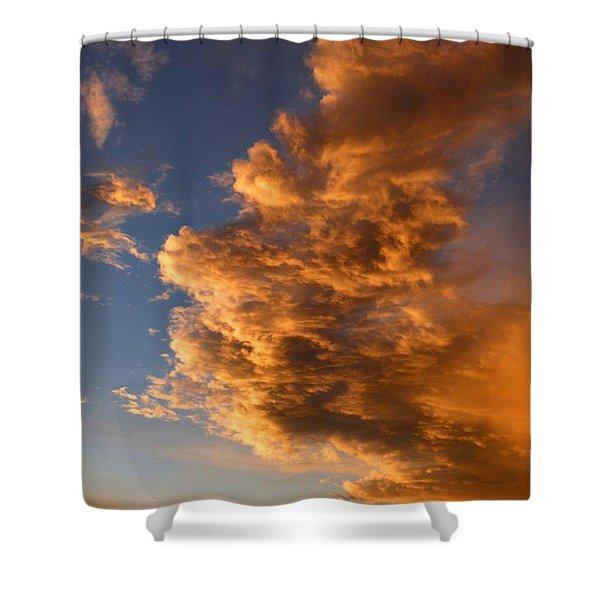 Dramatic Okanagan Sunset Shower Curtain