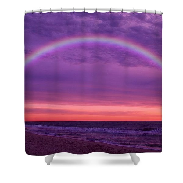 Dream Along The Ocean Shower Curtain