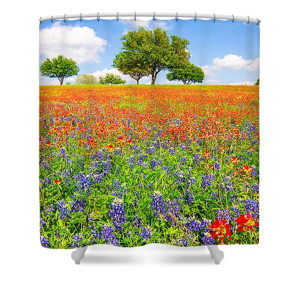 Dreaming Of Wildflowers Shower Curtain