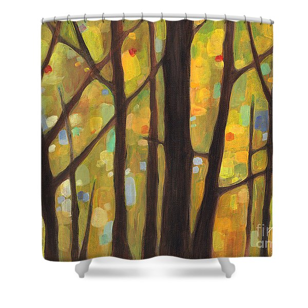Dreaming Trees 1 Shower Curtain