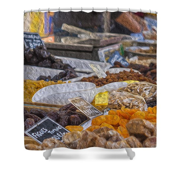 Dried Fruits Shower Curtain