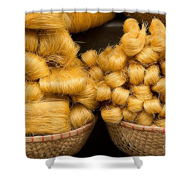Dried Rice Noodles 02 Shower Curtain