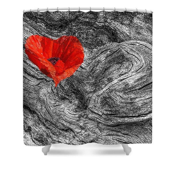 Drifting - Love Merging Shower Curtain