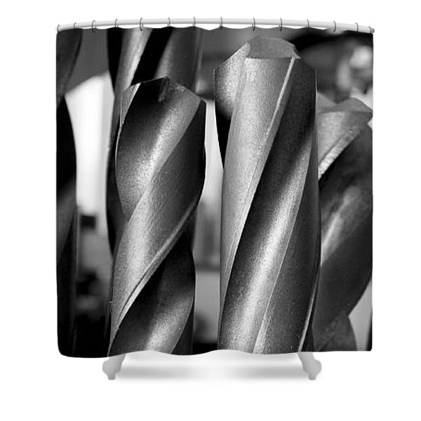 Drills Shower Curtain