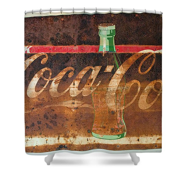 Drink Coca-cola Shower Curtain