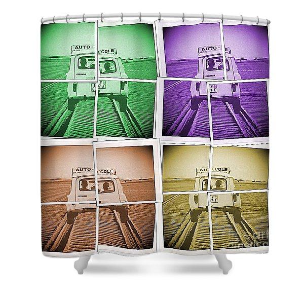 Dsd4 Shower Curtain