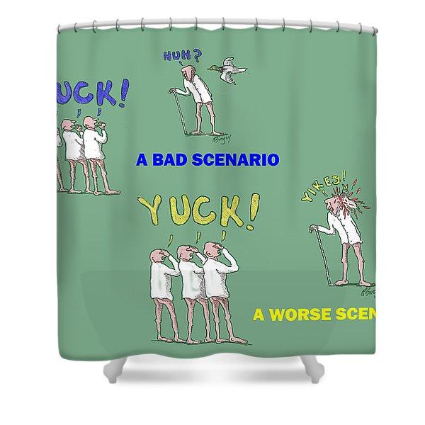 Duck Yuck Shower Curtain