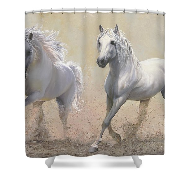 Due Cavalli Shower Curtain