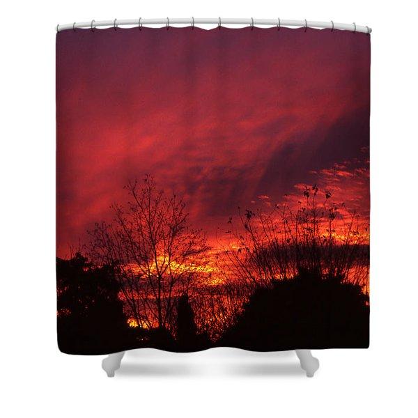 Dundee Sunset Shower Curtain