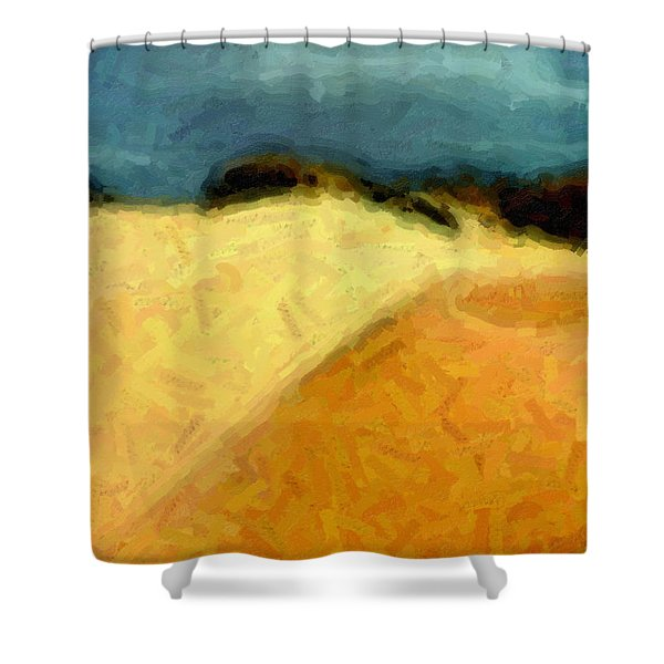Dunes 1 Shower Curtain