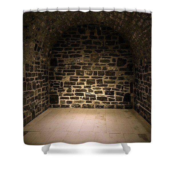 Dungeon Shower Curtain