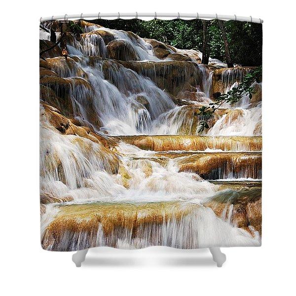 Dunn Falls Shower Curtain