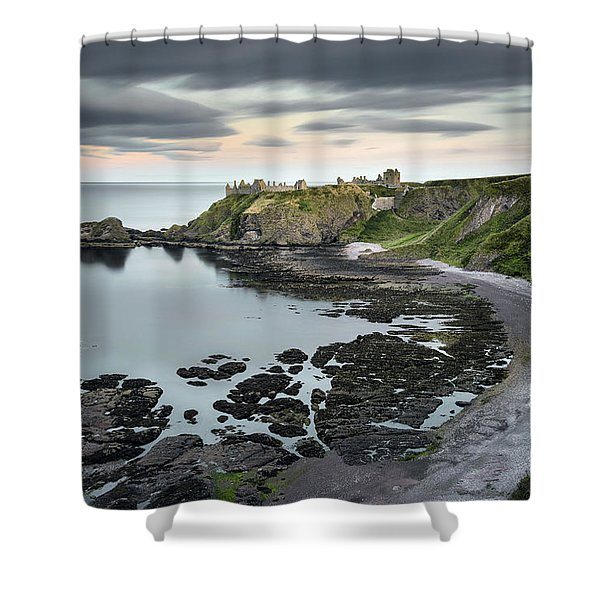 Dunnottar Twilight Shower Curtain