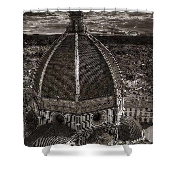 Duomo Dalla Campanile  Shower Curtain