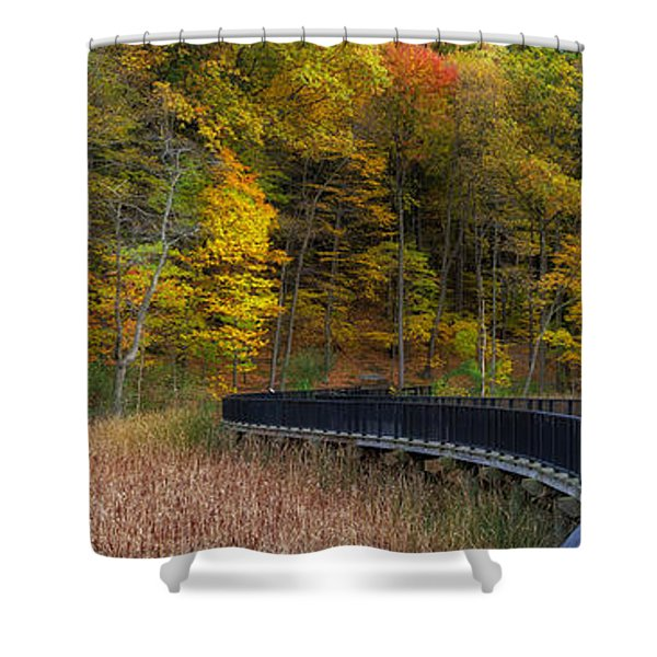 Durand Eastman Park Shower Curtain
