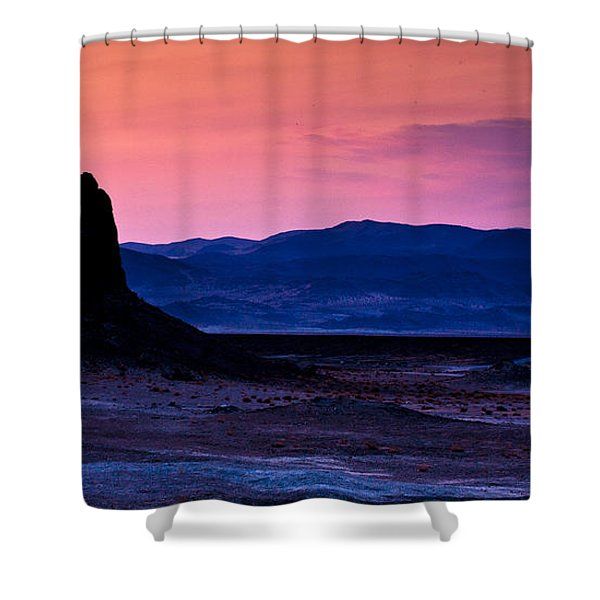 Dusk At Trona Shower Curtain