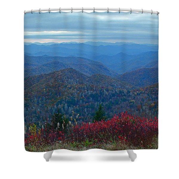 Dusk In Pastels Shower Curtain