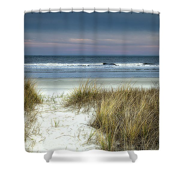 Dusk In The Dunes Shower Curtain