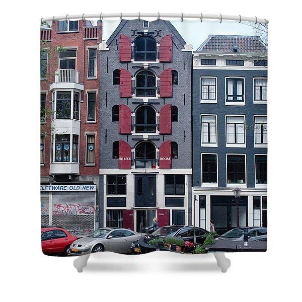 Dutch Canal House Shower Curtain