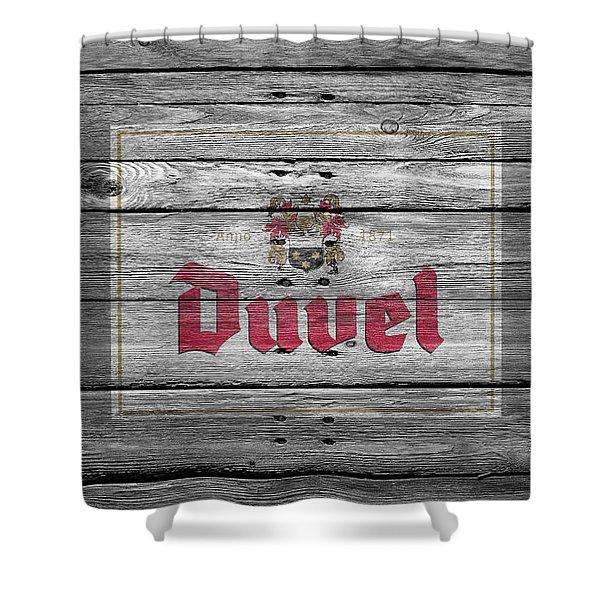 Duvel Shower Curtain