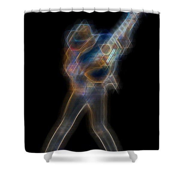 Dwight Noise Shower Curtain