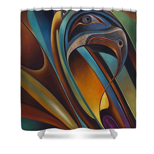 Dynamic Series #17 Shower Curtain