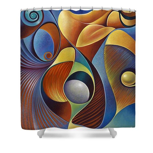 Dynamic Series #22 Shower Curtain