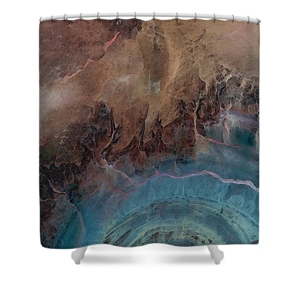 Earthship 1 Shower Curtain