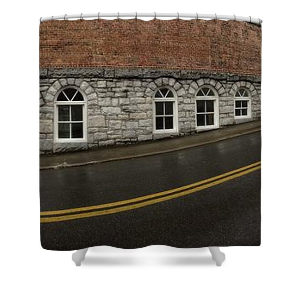 East Oak St Mount Airy Nc Shower Curtain
