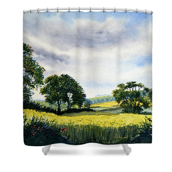 Eastfields From Woldgate Shower Curtain