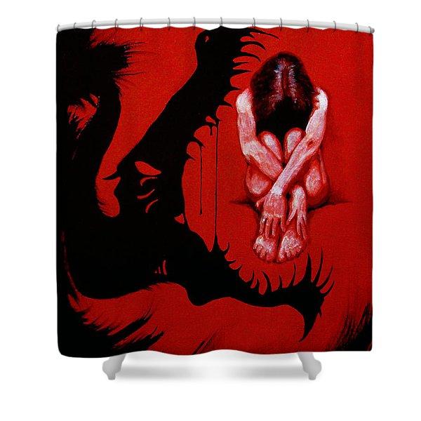 Eater Shower Curtain