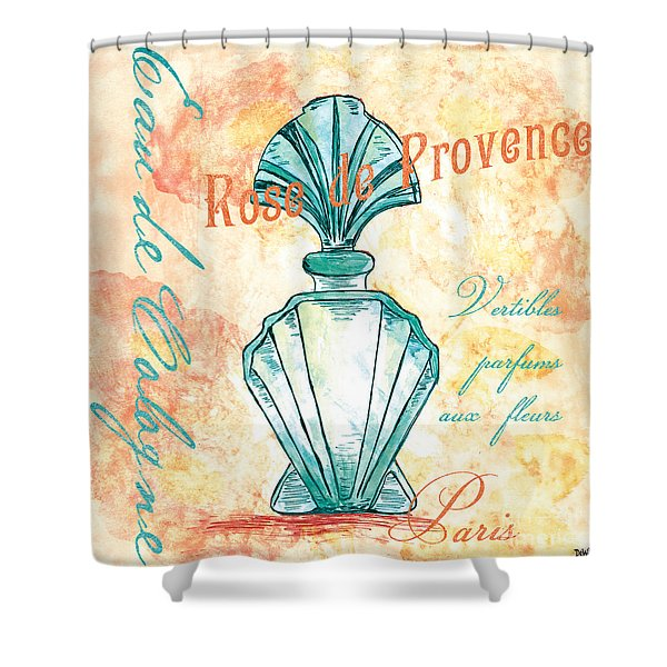 Eau De Cologne Shower Curtain