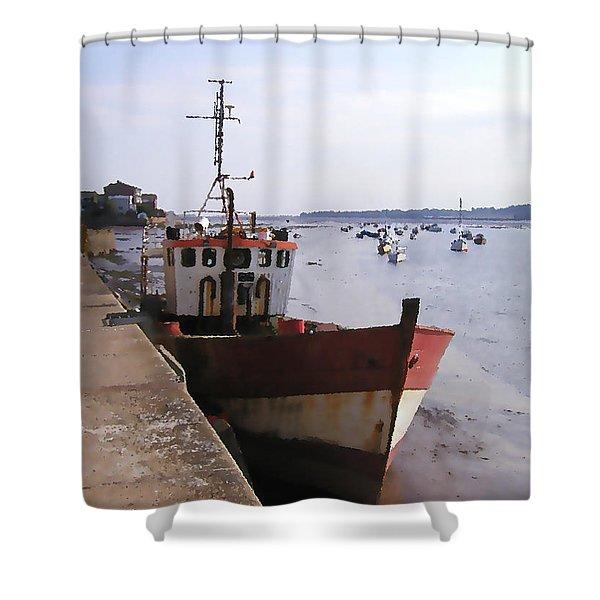 Ebb Tide Shower Curtain