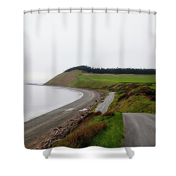 Ebeys Landing On Whidbey Island Shower Curtain