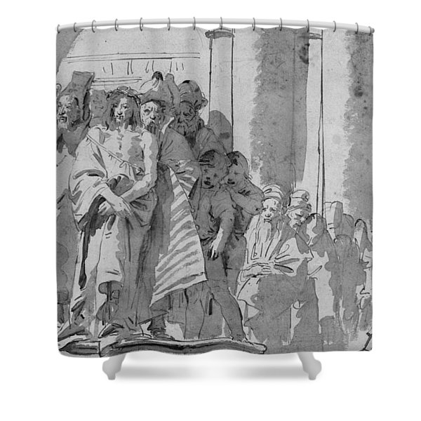 Ecce Homo Shower Curtain