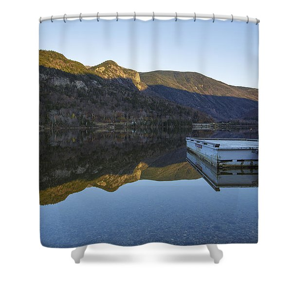 Shower Curtain featuring the photograph Echo Lake - Franconia Notch State Park New Hampshire Usa by Erin Paul Donovan
