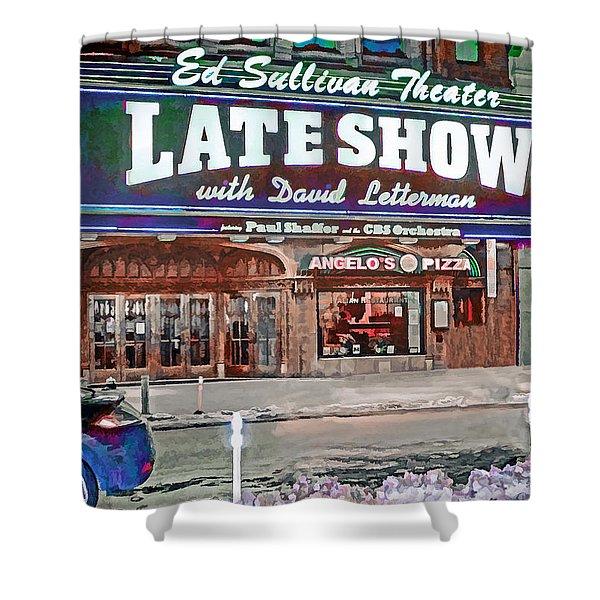 Ed Sullivan Theater Shower Curtain