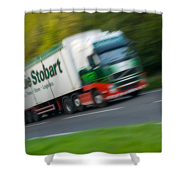 Eddie Stobart Lorry Shower Curtain