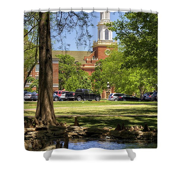Edmon Low Library Shower Curtain