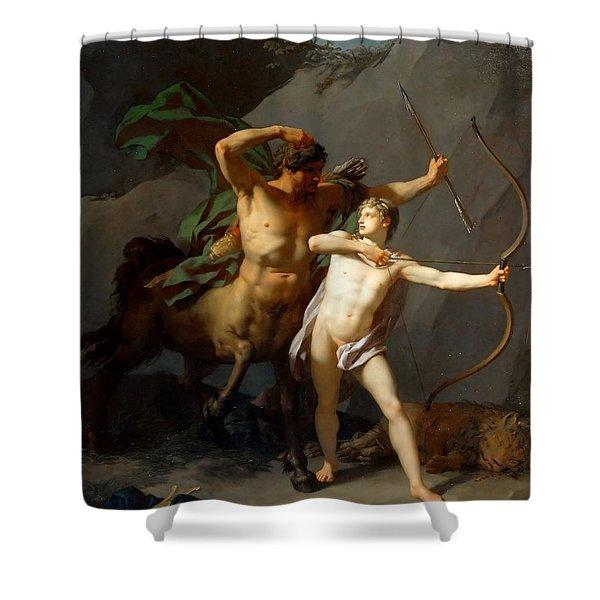 Education Of Achilles Shower Curtain
