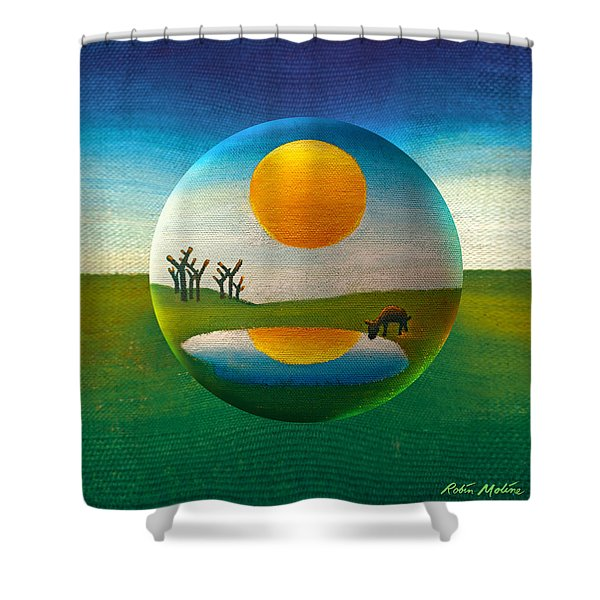 Eeyorb  Shower Curtain