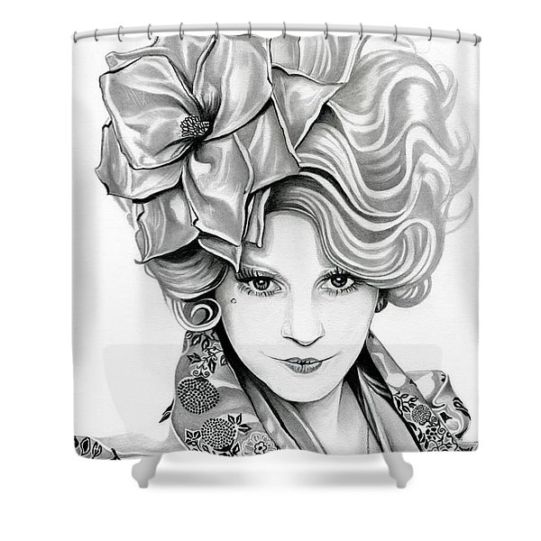Effie Trinket - The Hunger Games Shower Curtain