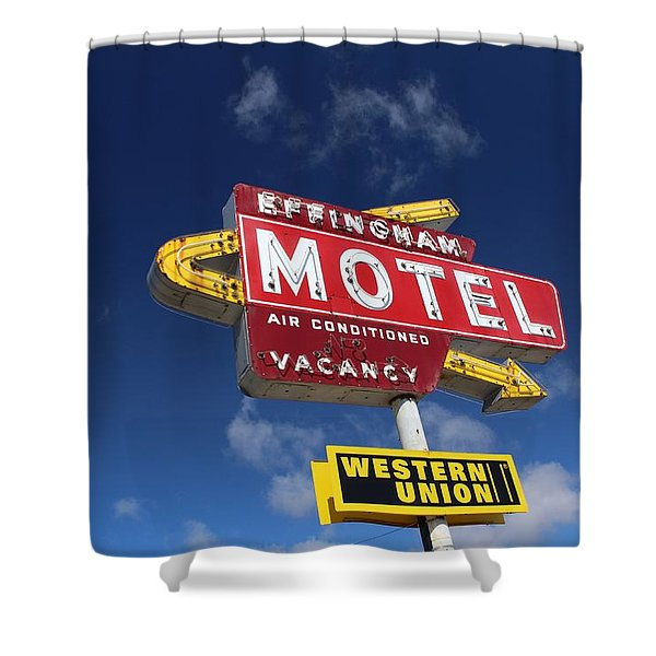 Effingham Motel Shower Curtain