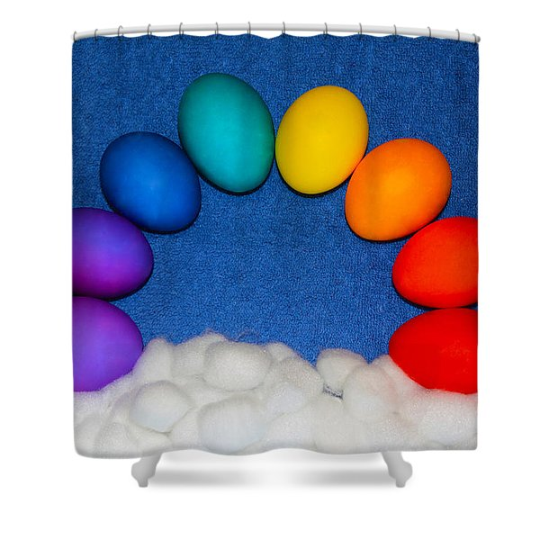 Eggbow Shower Curtain