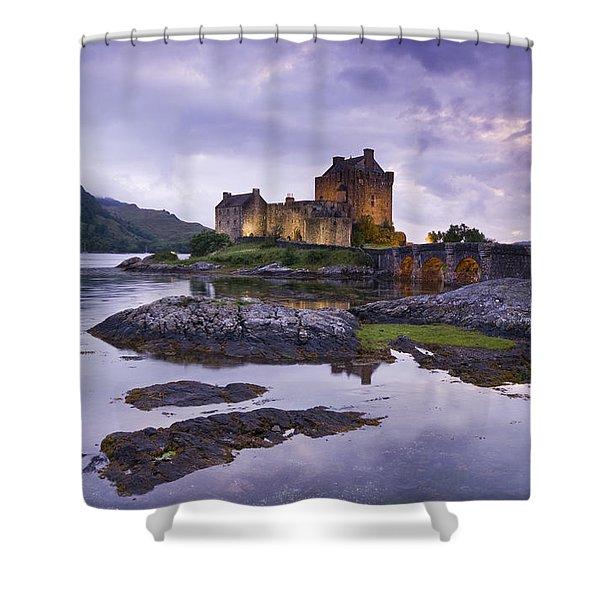Eilean Donan Castle Shower Curtain
