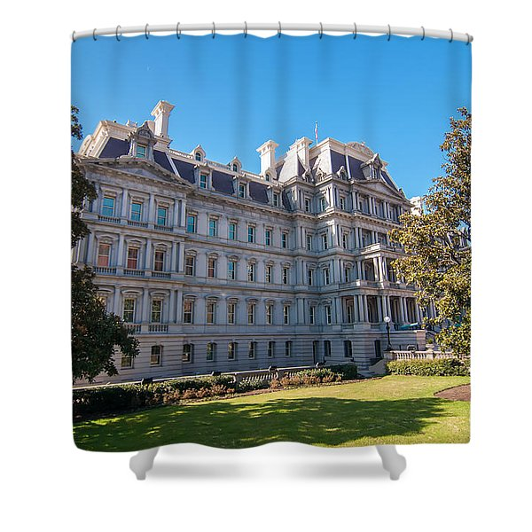 Eisenhower Executive Office Building In Washington Dc Shower Curtain