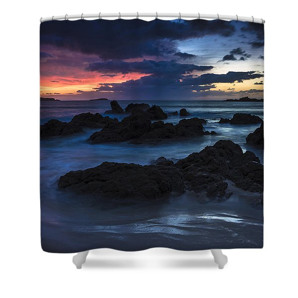 El Villar Beach Galicia Spain Shower Curtain