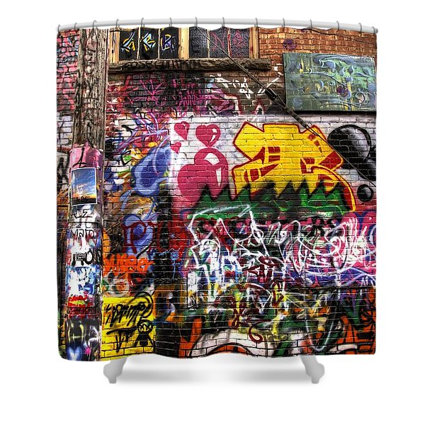 Electric Feel Shower Curtain