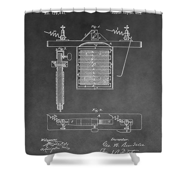 Electroplating Shower Curtain