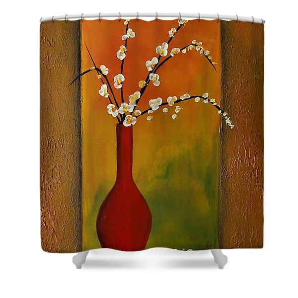 Elegant Bouquet Shower Curtain